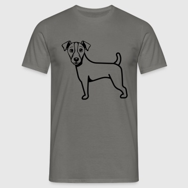 Hund Jack-Russell-Terrier - Camiseta hombre