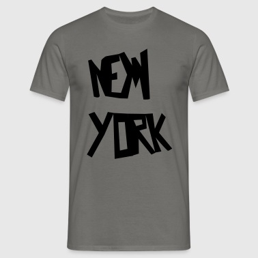 new york - T-shirt Homme