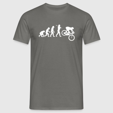 MTB Downhill Evolution - Men's T-Shirt