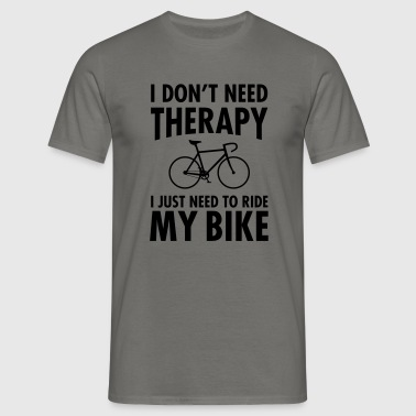 Therapy - Riding My Bike - Männer T-Shirt