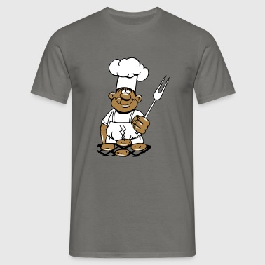 barbecue cuire cuisine barbecue - T-shirt Homme