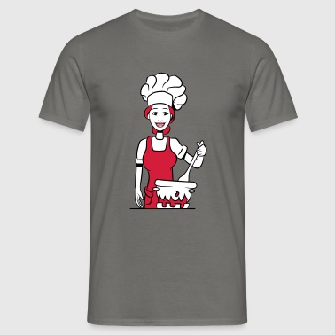 Cook cook - Men's T-Shirt