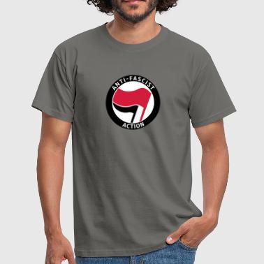Anti-Fascist Action - Camiseta hombre