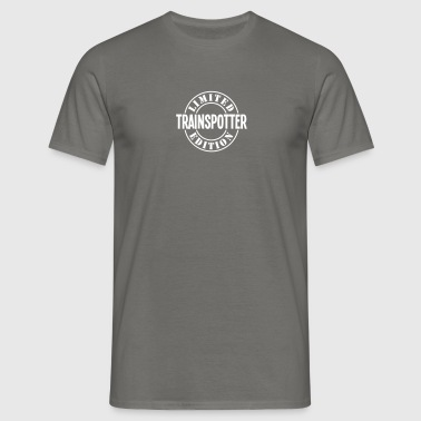 trainspotter limited edition stamp copy - Men's T-Shirt