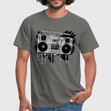 Ghetto Blaster - Men's T-Shirt