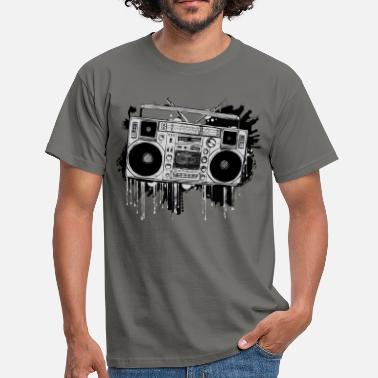 Blaster Ghetto Blaster - Men's T-Shirt