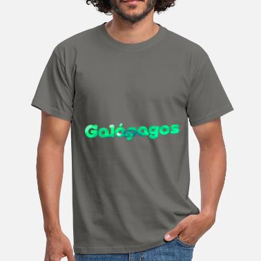 Galapagos Islands logo galapagos - Men's T-Shirt
