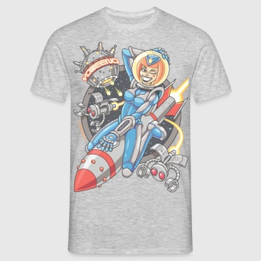 Yobeeno Cosmic Girl Shirt - Men's T-Shirt
