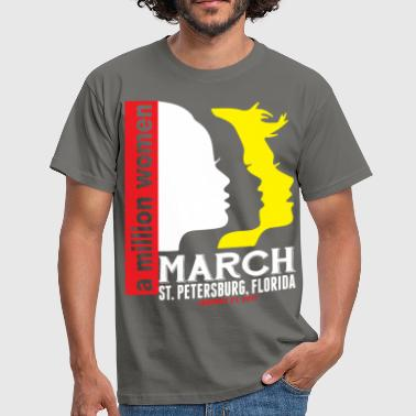 Women's March St. Petersburg Florida - Men's T-Shirt