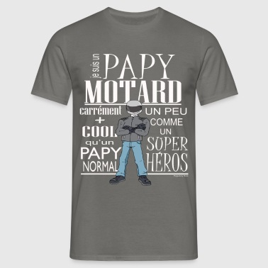 PAPY-MOTARD - T-shirt Homme