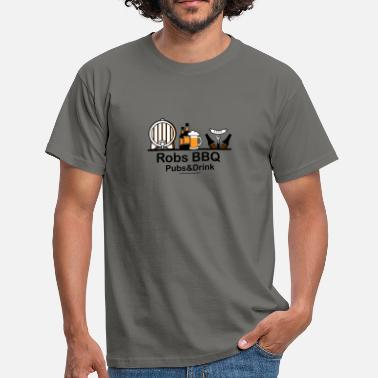 Bbq robs bbq - Men's T-Shirt