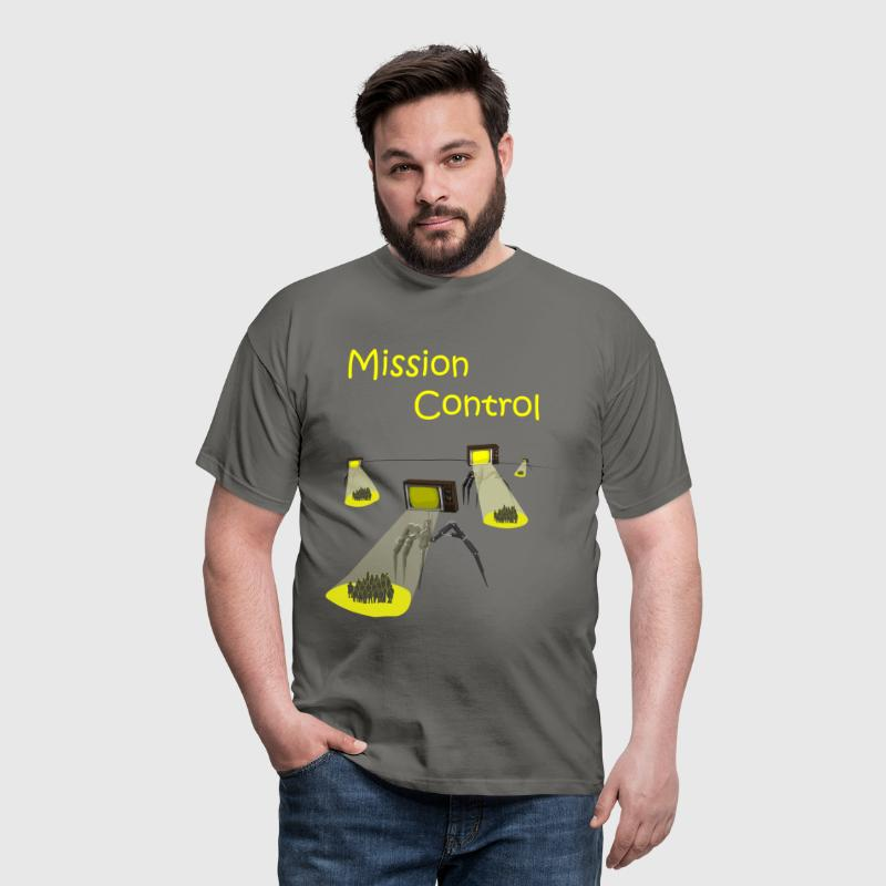 Media Invasion / Mission Control - Men's T-Shirt