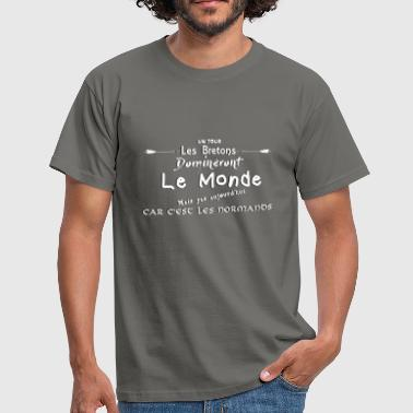 Normands Un jour... - T-shirt Homme