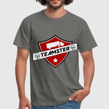shield teamster - T-shirt Homme