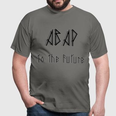 ABAP To The Future - Männer T-Shirt
