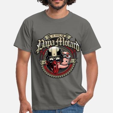 Motards Papa motard - T-shirt Homme