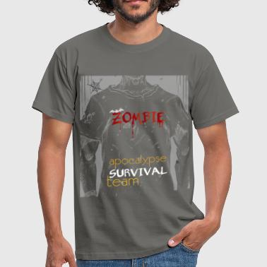 Team Zombie Zombie apocalypse survival team - Men's T-Shirt