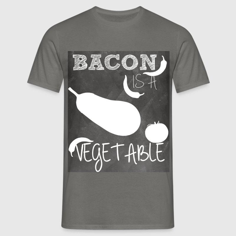 Bacon is a vegetable - Men's T-Shirt