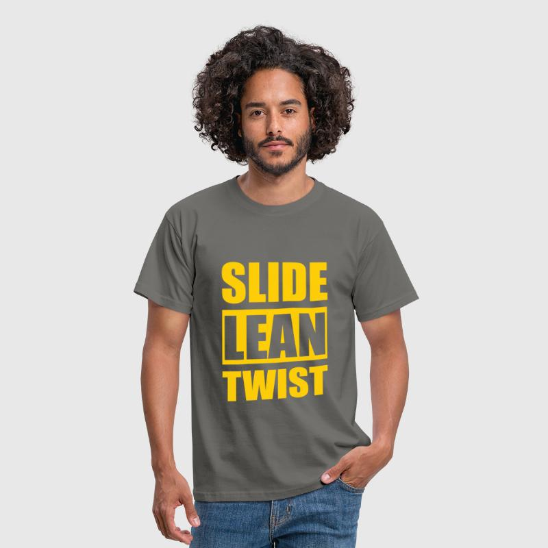 Slide lean twist - Men's T-Shirt