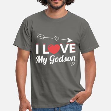 Godson I love my godson - Men's T-Shirt