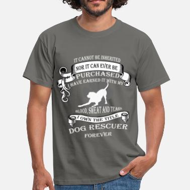 Animal Rescue It cannot be inherited nor it can ever be purchase - Men's T-Shirt