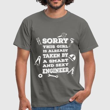 Already Taken Sorry this girl is already taken by a smart and se - Men's T-Shirt
