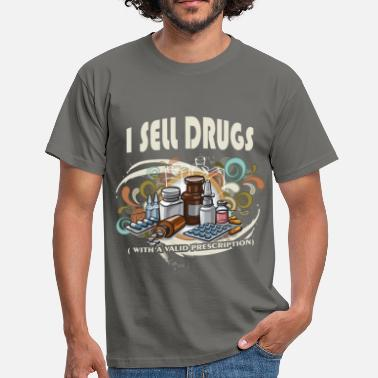 Prescription I sell drugs (with a valid prescription) - Men's T-Shirt