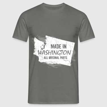 Made in Washington all original parts - Men's T-Shirt