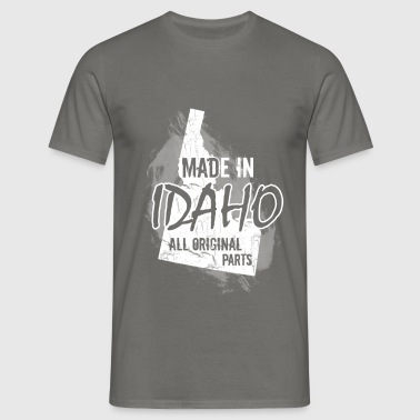 Made in Idaho all original parts - Men's T-Shirt