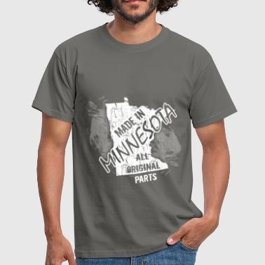 Made in Minnesota all original parts  - Men's T-Shirt