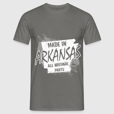 Made in Arkansas all original parts - Men's T-Shirt