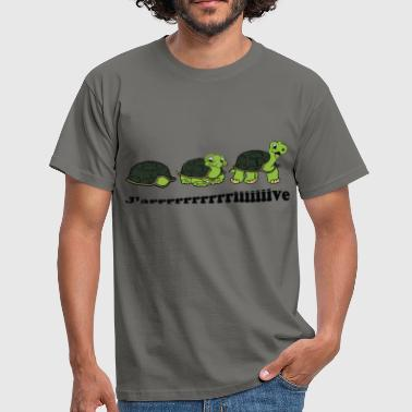 Tortues j'arrive - T-shirt Homme