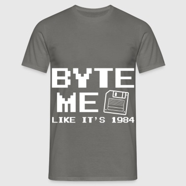 Byte Me like it's 1984 - Männer T-Shirt