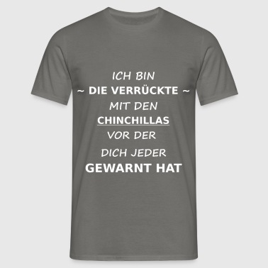 chinchilla - Männer T-Shirt