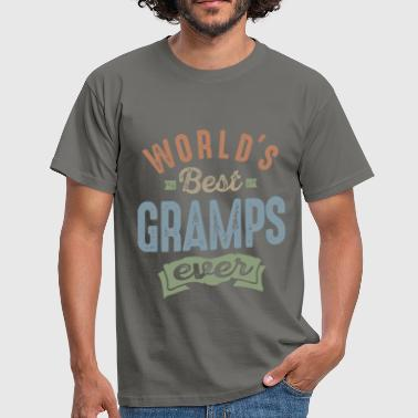 World's Best Gramps - Men's T-Shirt