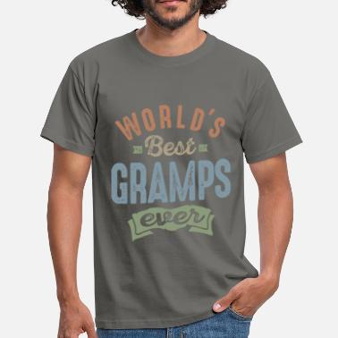 Gramps World's Best Gramps - Men's T-Shirt