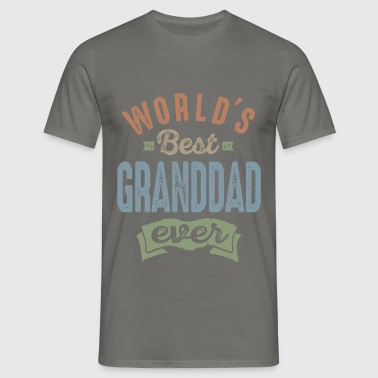 World's Best Granddad - Men's T-Shirt