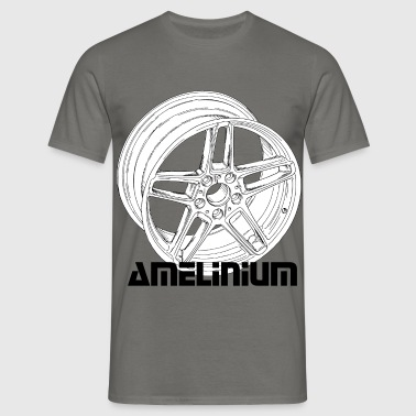 Wheel - Men's T-Shirt