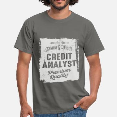 Quality Analyst Credit Analyst - Men's T-Shirt
