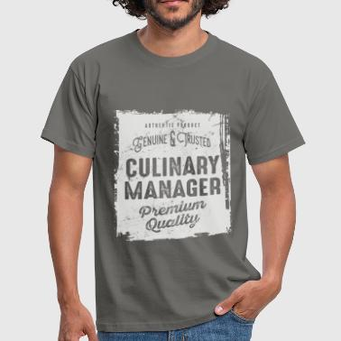 Culinary Culinary Manager - Men's T-Shirt