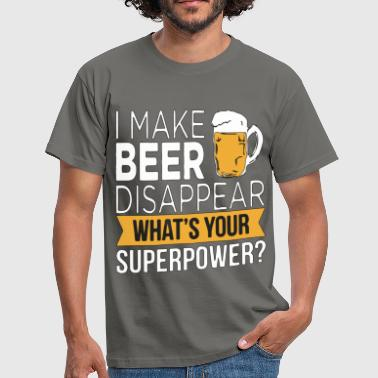 BeerPower - T-shirt Homme