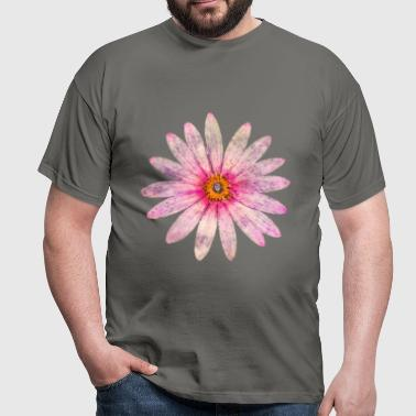 Pink Daisy - Men's T-Shirt