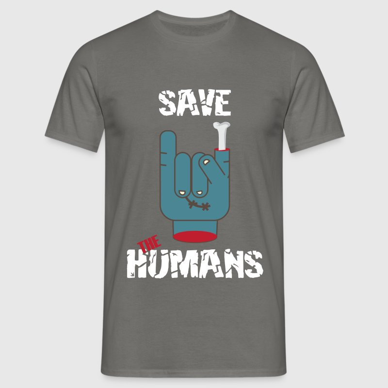 Humans - Save the humans - Men's T-Shirt