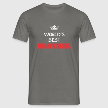 Brother - World's best Brother - Men's T-Shirt