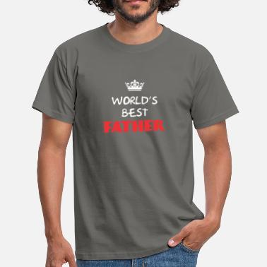 Best Father Father - World's best Father - Men's T-Shirt