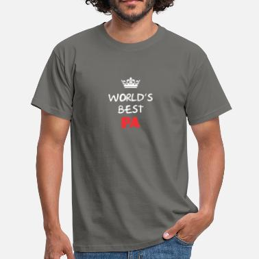 Pa Pa - World's best Pa - Men's T-Shirt