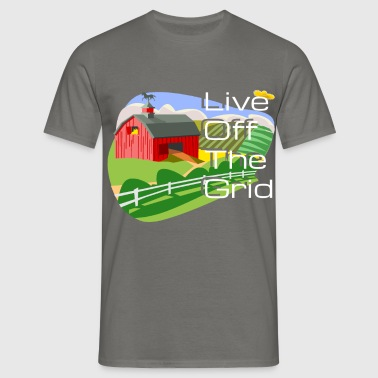 Grid - Live Off the Grid - Men's T-Shirt