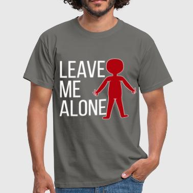 Leave Me Alone Introvert - Leave me alone - Men's T-Shirt