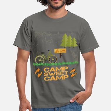 Camp Camping Camp - Camp sweet camp - Men's T-Shirt