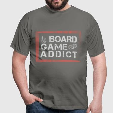 Board Games - Board Game addict - Men's T-Shirt